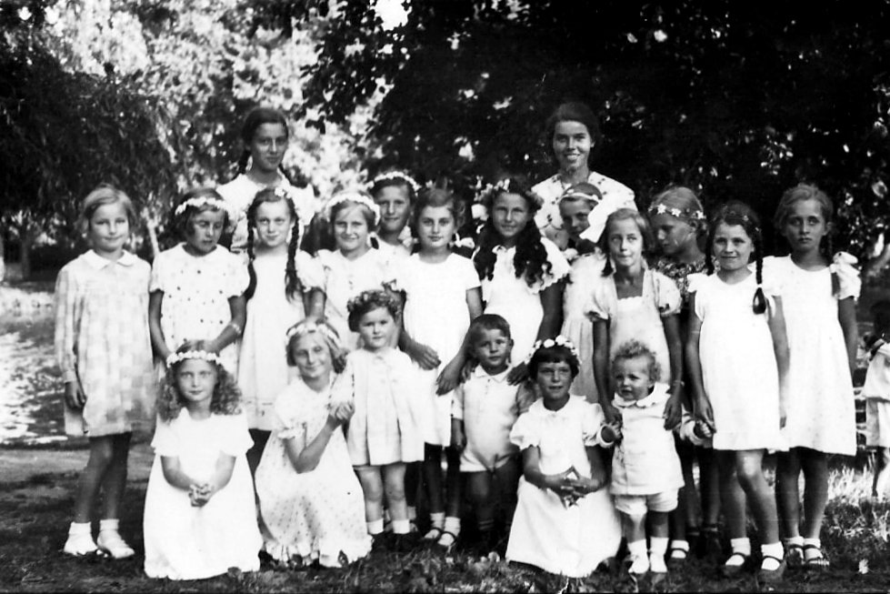 Siedlung Gärtnergasse - Siedlungsfest 1935 - Fahlenkampsweg