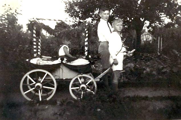 Siedlung Gärtnergasse - Siedlungsfest 1937 - Fahlenkampsweg