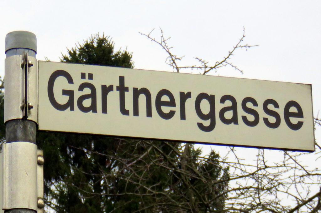 Siedlung Gärtnergasse - Gärtnergasse